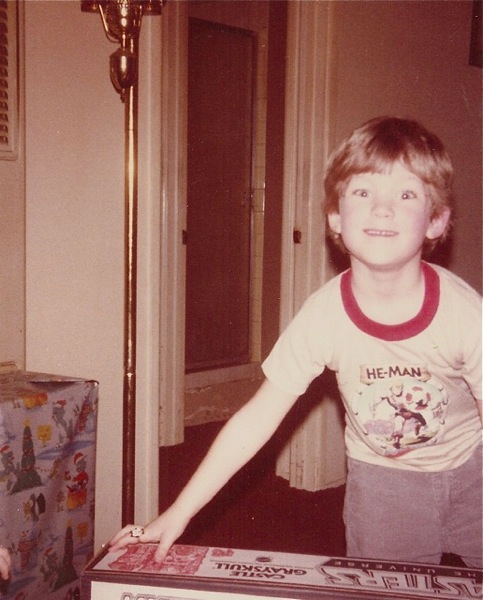 Josh receives Castle Grayskull for Christmas, 1983
